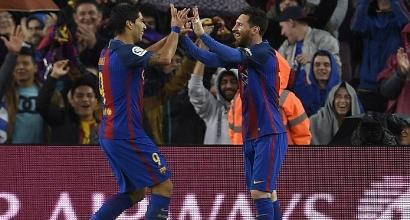 Griezmann fa un regalo al Barcellona: Real-Atlético finisce 1-1