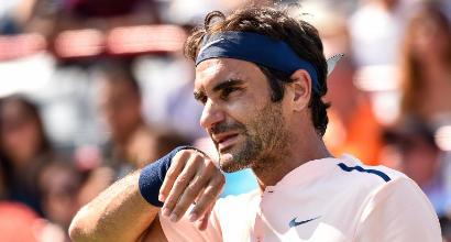 Tennis, Roger Federer è pronto per l'ultimo Slam della stagione
