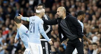 """ManCity, Guardiola: """"Vittoria importantissima per il passaggio del turno"""""""