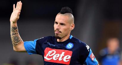 """Napoli, Hamsik: """"Con la Juve non sarà decisiva"""""""