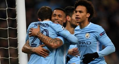 Champions League: City ai quarti, ko indolore con il Basilea
