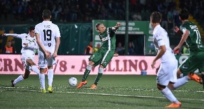 Serie B, Castaldo lancia l'Avellino fuori dalla zona playout