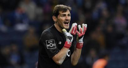 La disavventura di Casillas: un gabbiano gli ruba il pranzo