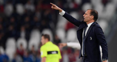 "Juventus, Allegri: ""Oggi bisognava vincere, avevamo la testa a Manchester"""