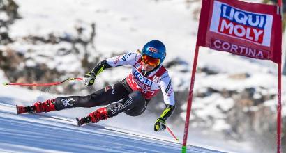 Sci: capolavoro Shiffrin in Super G, la Vonn saluta Cortina senza acuti