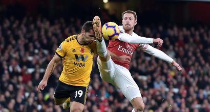 Ramsey-Juve subito: l'Arsenal dimezza il prezzo, si può fare