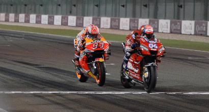 MotoGP: Ducati in attesa, ma la vittoria di Dovizioso in Qatar sembra salva