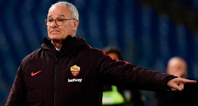 Roma, Ranieri applaude i suoi: