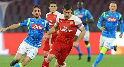 """Napoli, delusione Mertens: """"Peccato, l'Arsenal non è più forte di noi"""""""