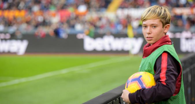 Roma, Totti Jr rimane: confermato nell'Under 15