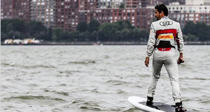 """Di Grassi surfa a NY: """"Farò del mio meglio"""""""
