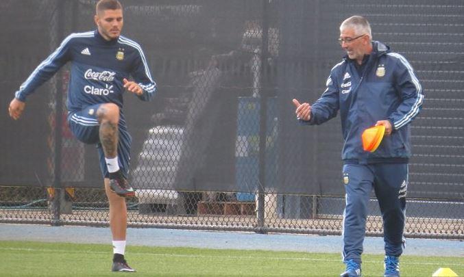 Argentina: primo allenamento per Icardi e Gomez