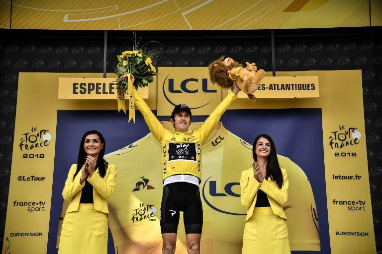 Tour de France: crono a Dumoulin, Thomas in trionfo - Le foto