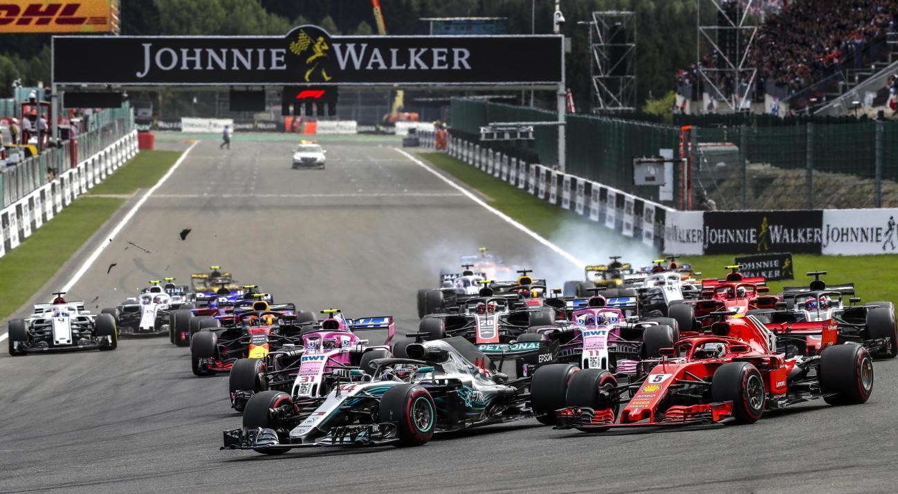 F1, incidente spaventoso al via a Spa