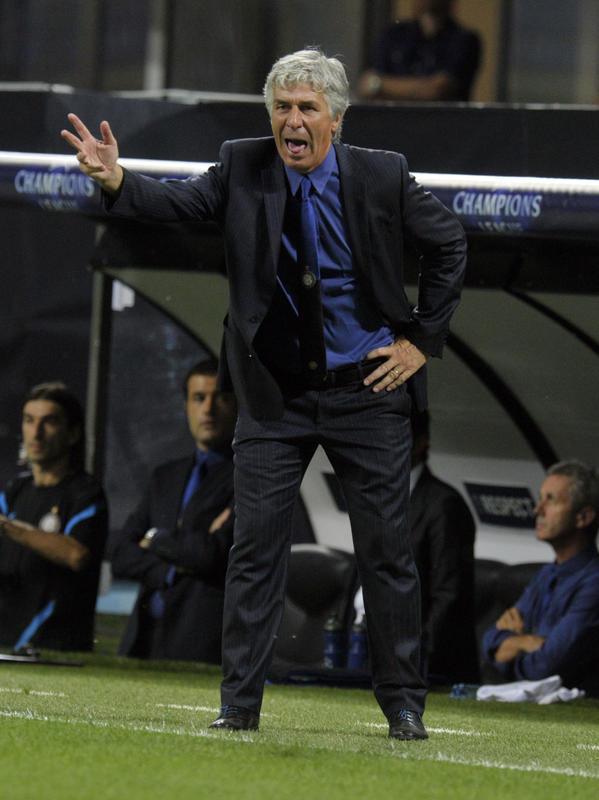 Gasperini, stagione 2011/12: esonerato. Bilancio totale: 1N, 4P. Sconfitto nella Supercoppa Italiana. Media punti in campionato: 0,33