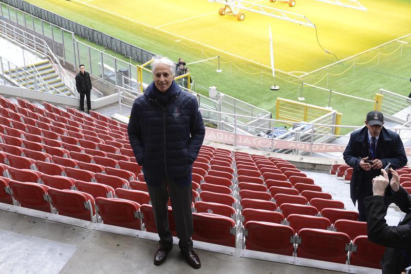 Milan e Inter hanno dato il benvenuto al comitato del CIO in vista di Cortina 2026
