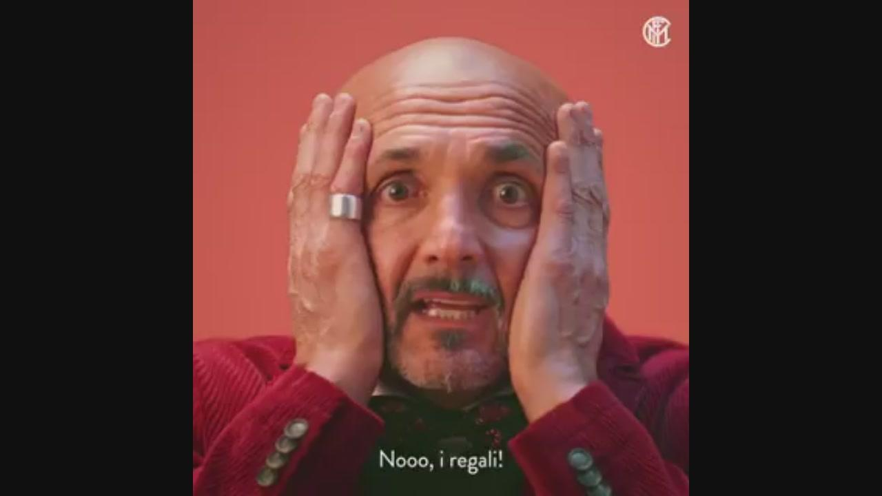 Regali Di Natale Video.Spalletti Senza Regali Oh Noooo Sportmediaset