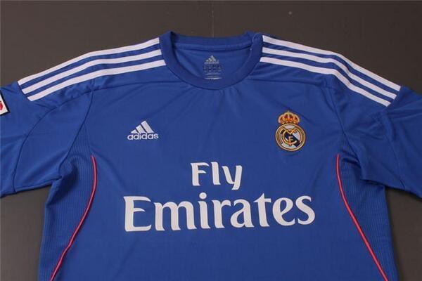 Seconda Maglia Real Madrid nuova
