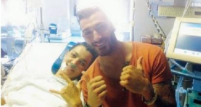 Alessia Polita con il fratello Alex