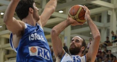 Basket, Italia battuta da Israele 78-74