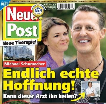 """Michael Schumacher, parla Corinna: """"Sta migliorando"""""""