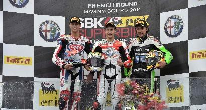 Il podio di Magny Cours