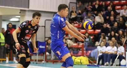 Volley, SuperLega: cade Civitanova, Modena fa festa