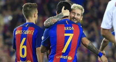 Supercoppa di Spagna: travolto il Siviglia, festeggia il Barcellona