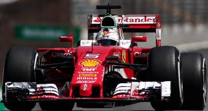 F1, Interlagos: Hamilton primo anche nelle libere 2