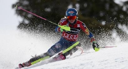 Sci, slalom Squaw Valley: Shiffrin imbattibile, altro capolavoro