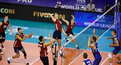 Volley, World League: Italia travolta, 3-0 Stati Uniti