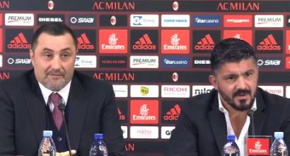 """Milan, Fassone: """"Ora un nuovo capitolo"""". Mirabelli: """"Tutti hanno reso meno delle aspettative"""""""