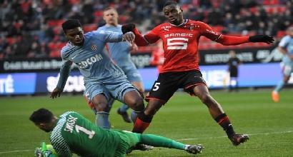 Ligue 1, il Monaco sbatte sul Rennes: parità a Roazhon Park