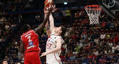 Basket Serie A: Milano cade con Pesaro, Venezia è sola al comando