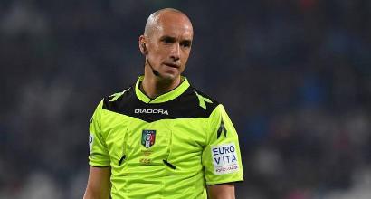 Arbitri Serie A 4a giornata: Juve-Sassuolo a Chiffi, Fabbri per Napoli-Fiorentina
