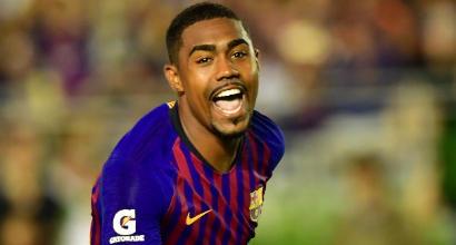 """Il Barcellona lo scarica, Malcom reagisce: """"Io resto qua"""". Inter e due inglesi alla finestra"""