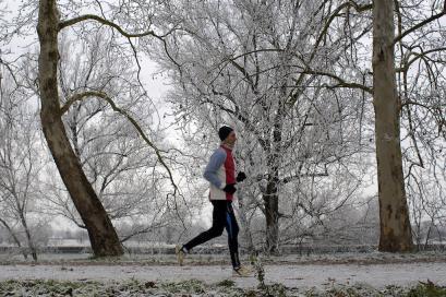 Correre in inverno: attenti all'effetto neve