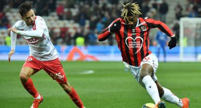 """Nizza, è rottura tra Saint-Maximin e Vieira: """"Non aveva la febbre"""". Il Milan alla finestra"""