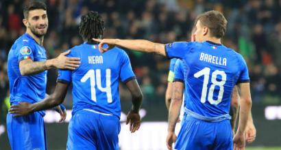 """Italia, Kean supera Rivera: """"Imparo da CR7, ho tanti record da battere"""""""