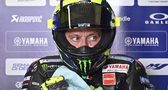 """MotoGP Germania, Rossi: """"Il ritmo gara c'è"""""""