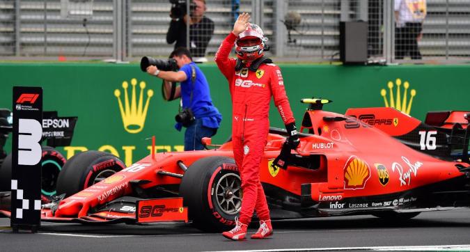 F1 Gran Bretagna, Leclerc: