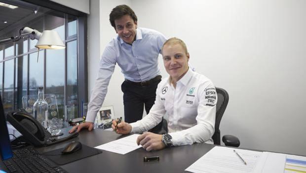F1, Bottas nuovo pilota Mercedes