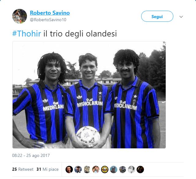 Inter, la gaffe di Thohir spopola sul web