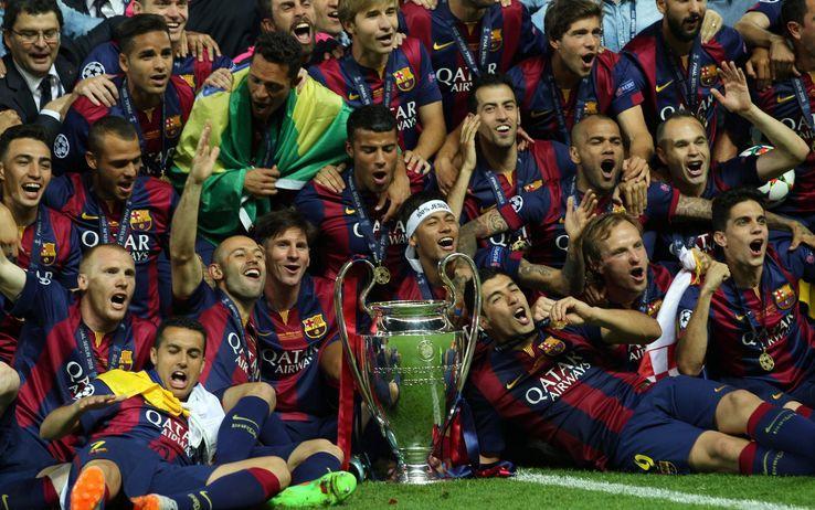 Barcellona, 2015. Finale vinta 3-1 contro la Juve