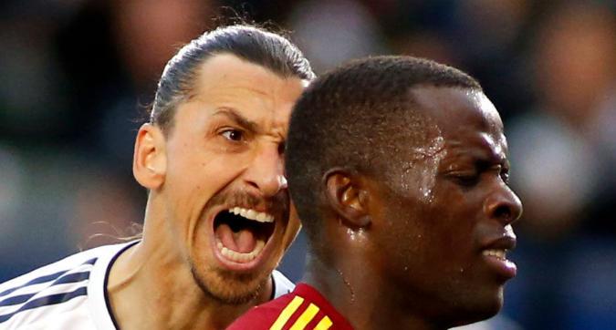 MLS, Ibra è una furia contro Onuoha