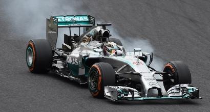 L'errore di Hamilton Suzuka, Foto AFP