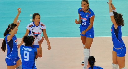 Italvolley donne, Foto IPP