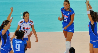 Volley donne, Foto IPP