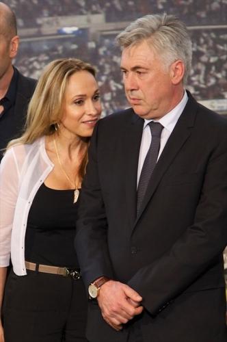 Ancelotti, la fidanzata Marien al suo fianco - Calcio - Sportmediaset - Foto 8