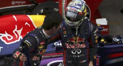 Webber e Vettel foto Reuters, Foto Reuters